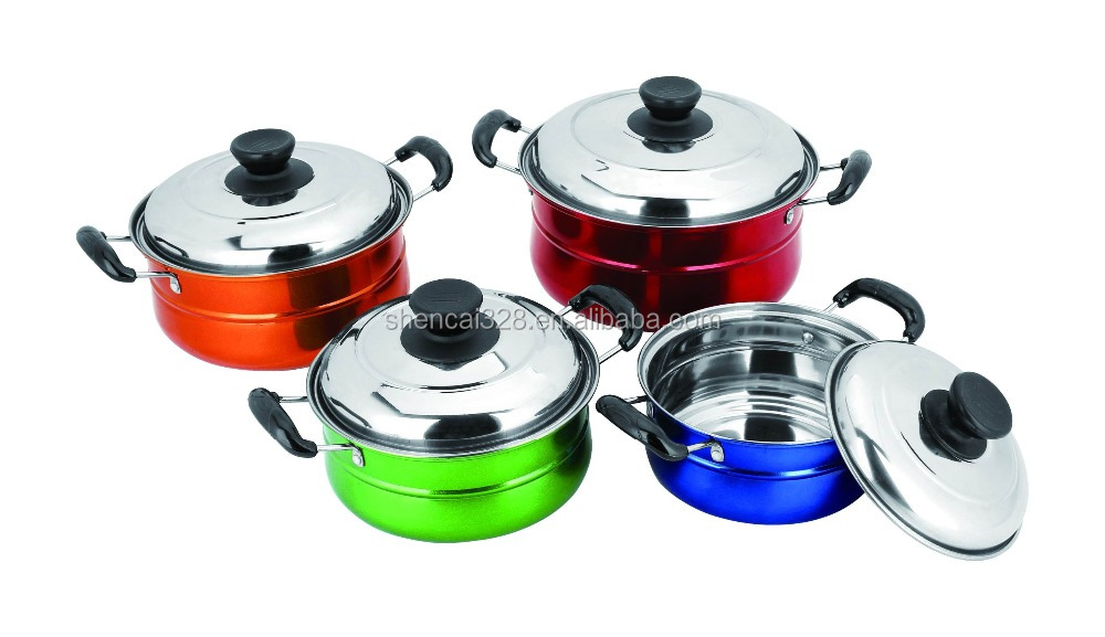 stainless steel kitchenware popular cooking pot cooking pot set