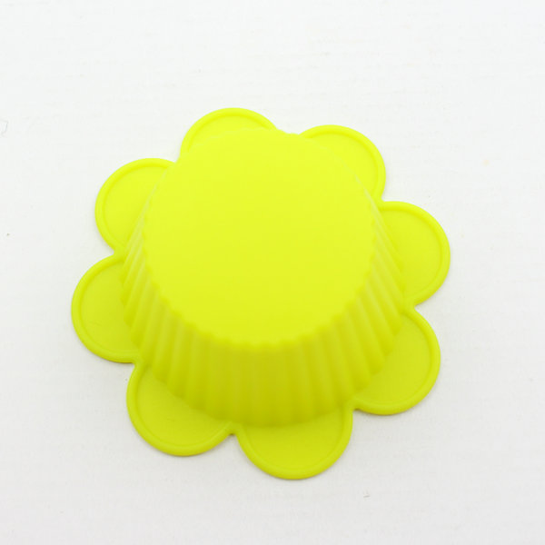 Food grade wonderful silicone flower shape cake mold mould