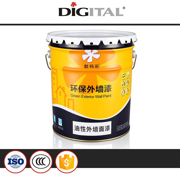 Good Outdoor Durability Waterproof Alkali Resistant Acrylic Emulsion Nano Oily Exterior Wall Paint