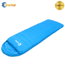 colour custom adult envelope hollow cotton camping sleeping bags