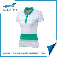 Drifit cheap women Polo t-shirt OEM