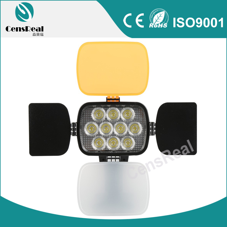 CE High CRI Dimmer 3200K/5600K Photo Camera LED with <strong>10</strong> leds