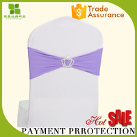 New design chair covers and sashes for sale buckle chair sash for decor