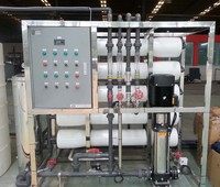 2000L/H Low Price Carbon Steel Filter RO Drinking Water Treatment System
