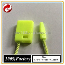 GZ-Time Factory Fluorescent string hang label wholesale,string plastic green string hang label