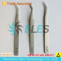 Anti-static Stainless Steel Tweezers