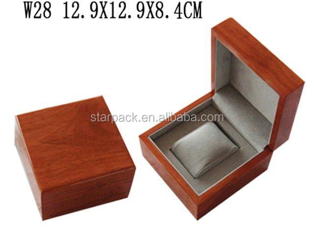 Small Matte High Quality Woonden Watch Gift Packaging Storage Box Watch Case W28