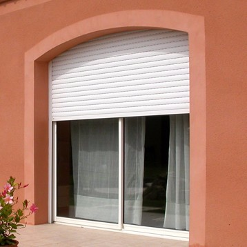 Motorized Energy saving exterior Aluminum roller shutter window shutter door