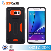 Luxury Hybrid Rugged Armor Slim Case For Samsung Galaxy Note 5 Phone Back Covers