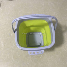 Portable Travel Outdoor Wash and carry use Folding Bucket