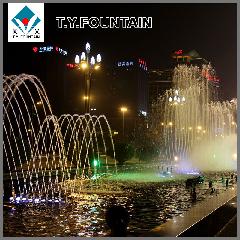 High precision outdoor fountains nozzles with high quality