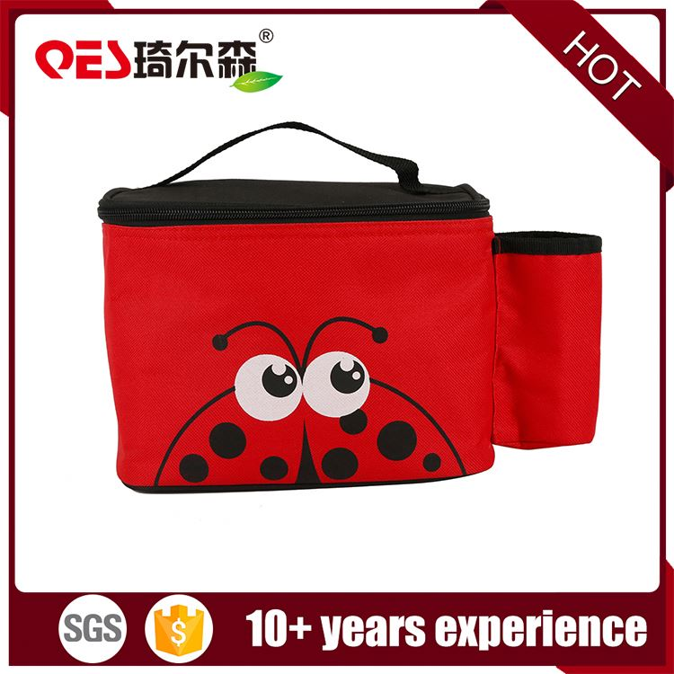 Recycle customized hot food thermal large space insulated cooler bag lunch bags