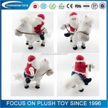 best selling toys 2017 plush stuffed santa claus doll