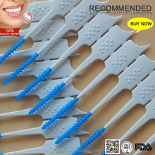Reusable Wire Free Rubber Interdental Brush