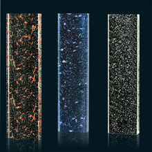 decorative bubble glass panels