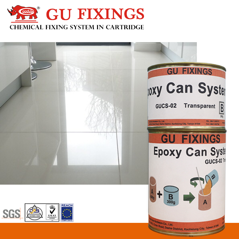 Grout seal material marble crack repair clear liquid epoxy resin