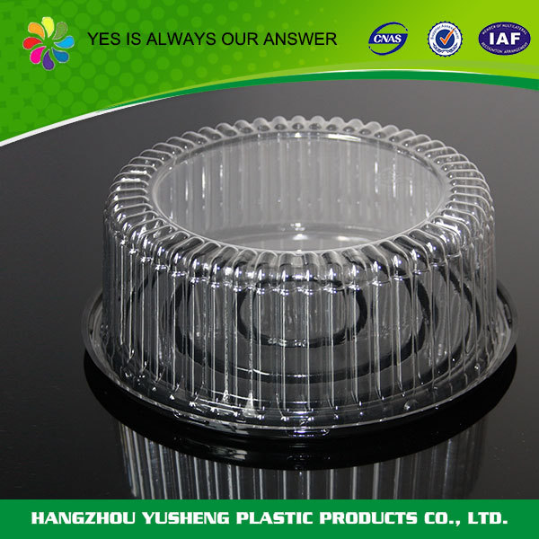 Factory directly sale disposable cylindrical plastic container