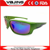Full Frame Green Frame Sports Sunglasses