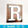Grateful RGB light led letters with protrude acrylic letter x-ray lead letters used outdoor led signs for sale