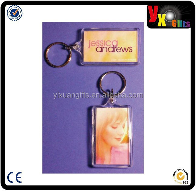 AS-IS JESSICA ANDREWS PINK PHOTO DouBLe SIDED ZIPPER PULL Acrylic AS IS KEYCHAIN/antique coin