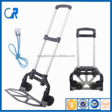 Protable Aluminum Foldable Luggage Trolley