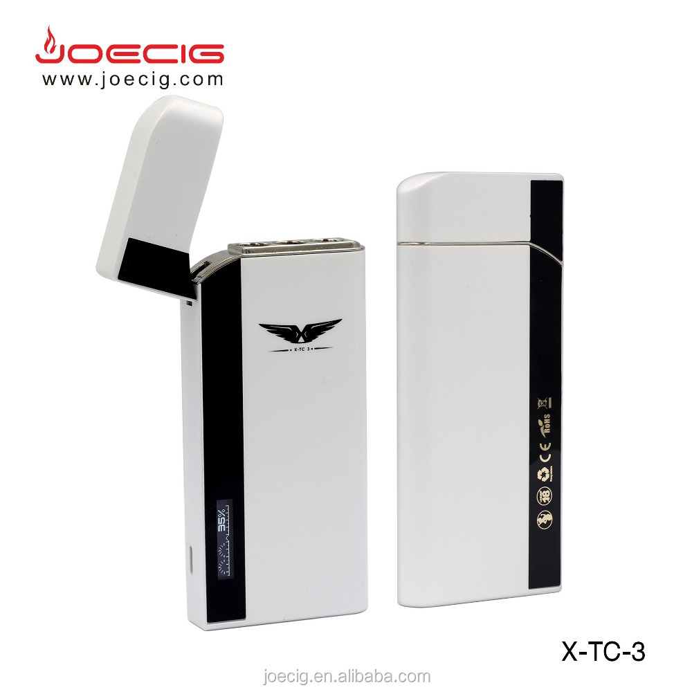 portable pcc e cig joecig x-tc 3 new e-cigarette charging case 900mah