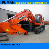 Used crawler excavator machine used daewoo 220 excavators Doosan DH220LC-7 Doosan used excavators