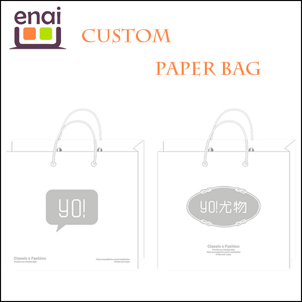 totally customized paper bag