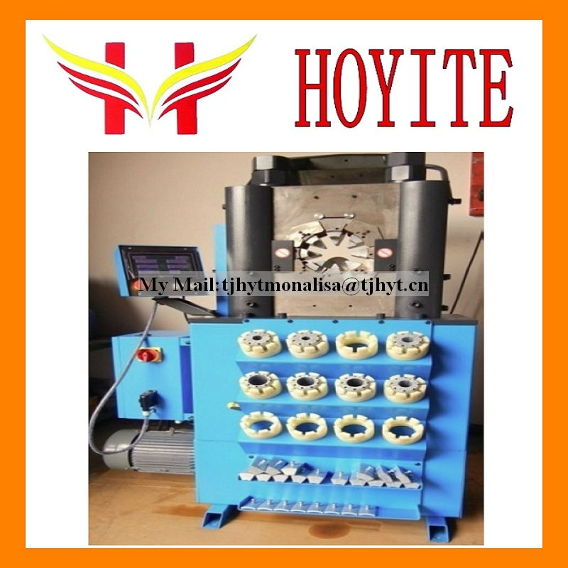 Full Automatic Workshop Hose Crimping Machine with touch screen