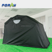2016 new black coating Waterproof bike Motorcycle Cover 600D oxford black spray frame motorcycle storage tent