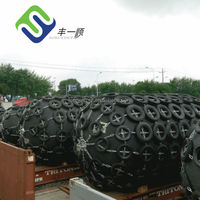 D3.3m x L6.5m pneumatic fender Deck fittings and equipments for ship