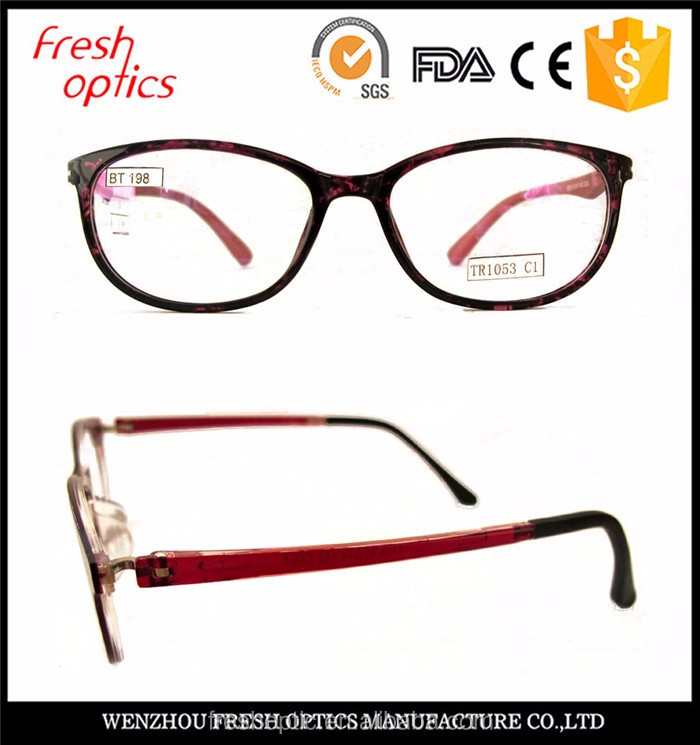 China professional manufacture tr 90 optical frames distributors