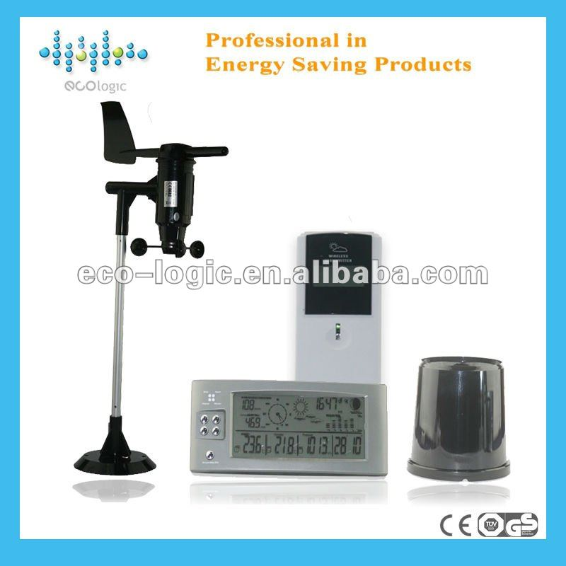 2012 new CE multifunction weather station outdoor/indoor solar transmitter sensor