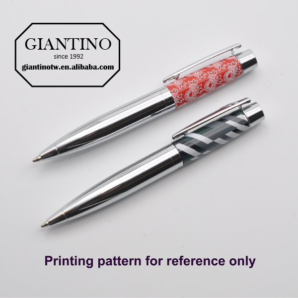 Novelty Metal Ballpoint Pen Customized Logo Printed