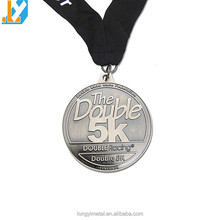 High quality promotional good price, sports stand sliver medal