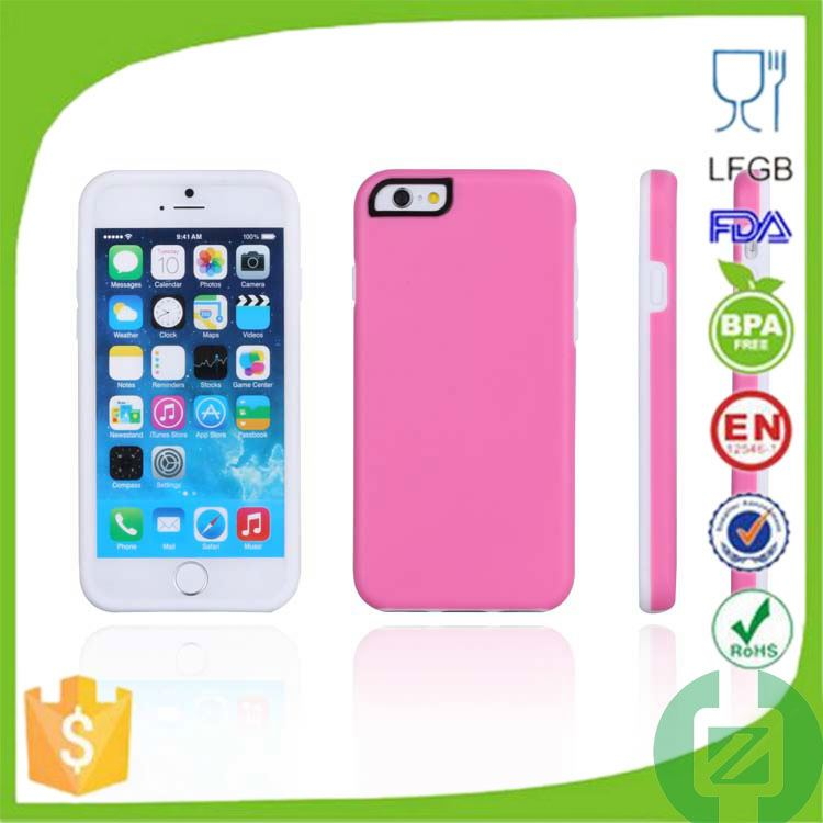 low price china mobile phone 3d silicon phone case for iphone 6 plus