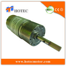 low EMI and longevity variable speed 3 rpm dc gear motor