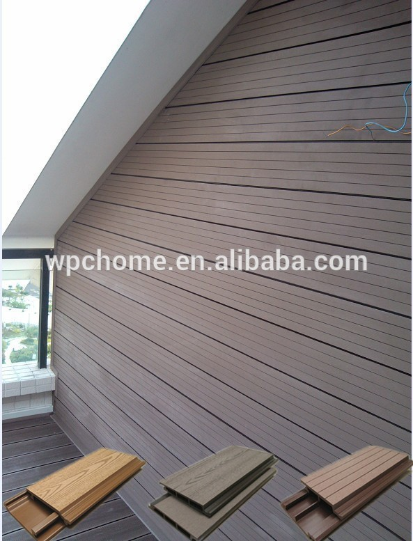 Wpc Wood Plastic Composite Wall Panel Wpc Cladding Exterior Wall Decoration Wpc Cladding Outdoor