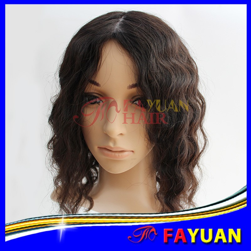 Best selling 7A virgin curly human hair wigs for black women
