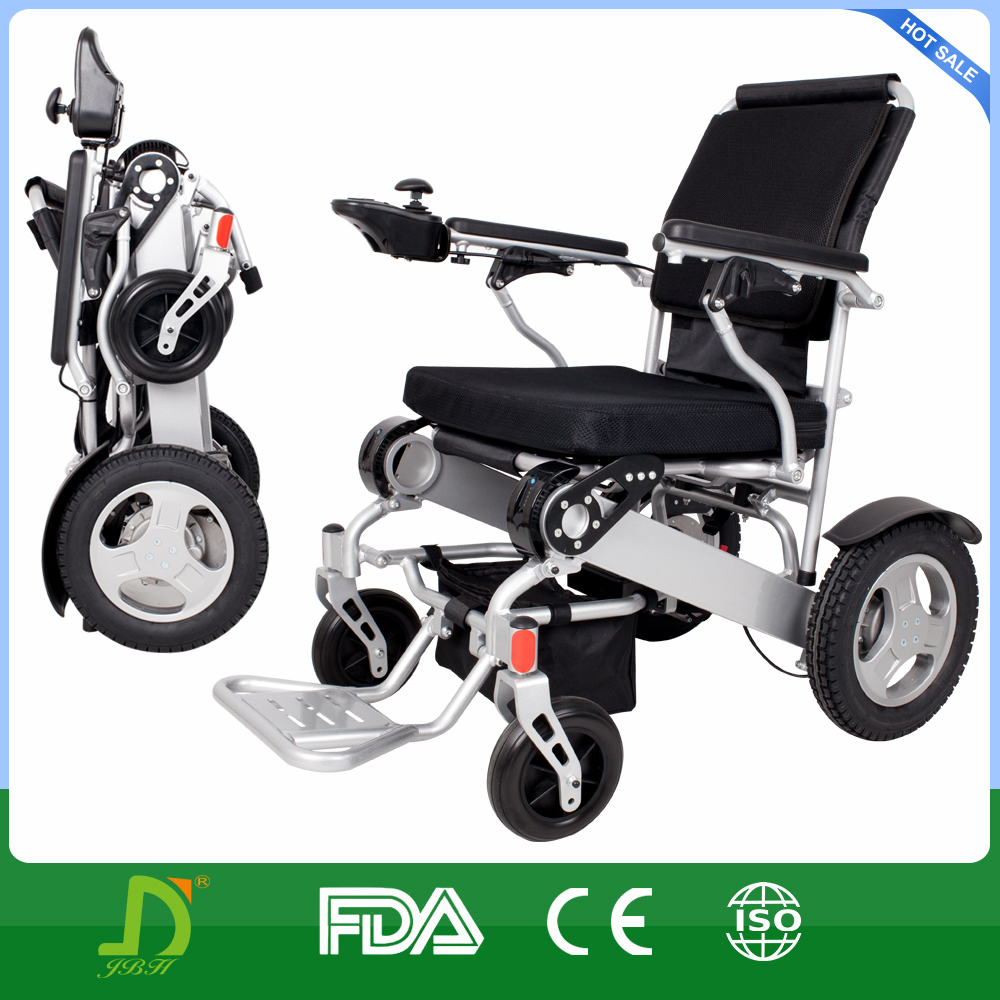 new design easy carry mini folding travel power wheelchair