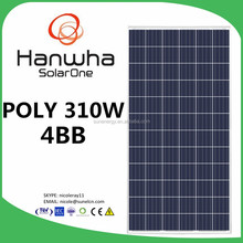 Hanwha solar panel in stock 300W, 310W HSL72P6-PC-1-310