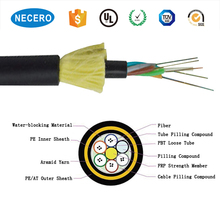 Longer Aerial SM Standard ADSS Fiber Optic Cable