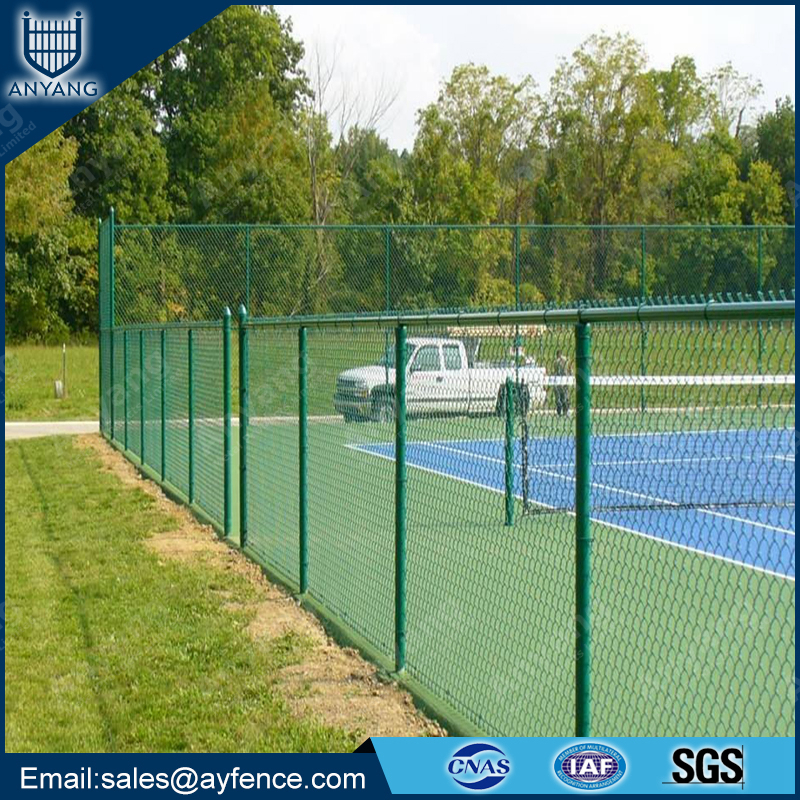 9 Gauge PVC Plastic Coated wholesale chain link fence for Garden