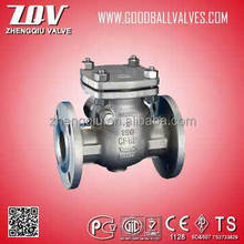 NATURAL GAS ASTM A216 WCB CHECK VALVE