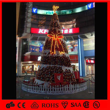 Outdoor LED Metal Christmas Tree with Arcylic