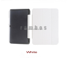 Ultra Slim Smart Magnetic Leather Stand Case Cover with Hard Plastic Shell Cover for Samsung Galaxy Tab S 8.4 T700