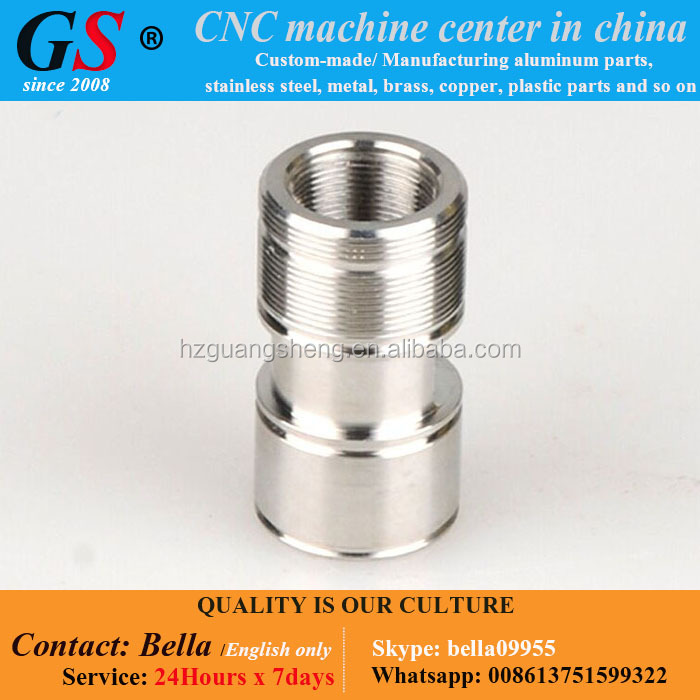 Investment Casting / Turning Stainless Steel Machinability, Custom CNC Processing