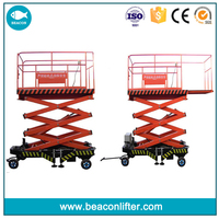 used towable man lifter used for carrying people