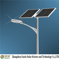 Good quality OSRAM chip price per watt solar panel 150w Solar street light photovoltaic