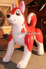 Hot Sale Inflatable Husky Dog,PVC Promotional Inflatable Dog/Husky